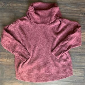 Michael lord cowl neck sweater size Large